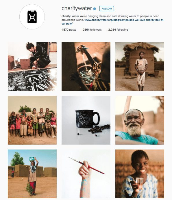 Charity-Water-Instagram-Social-Lite-Communications