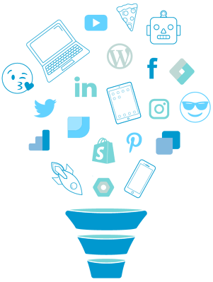 Social Lite Communications Funnel